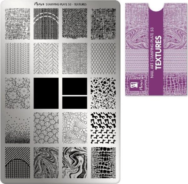 Moyra Stamping Plate 53 Textures