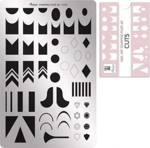 Moyra Stamping Plate 60 Cuts