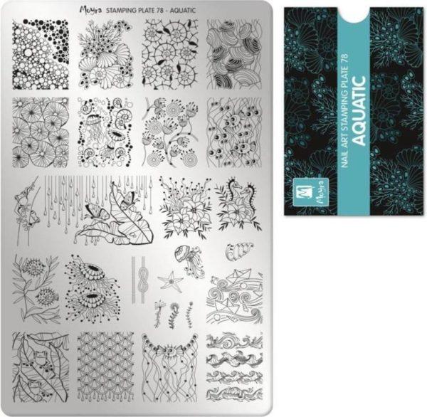 Moyra Stamping Plate 78 Auquatic