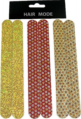 Multihouse Nagelvijlen 18 Cm Mix Glitter 2 stuks