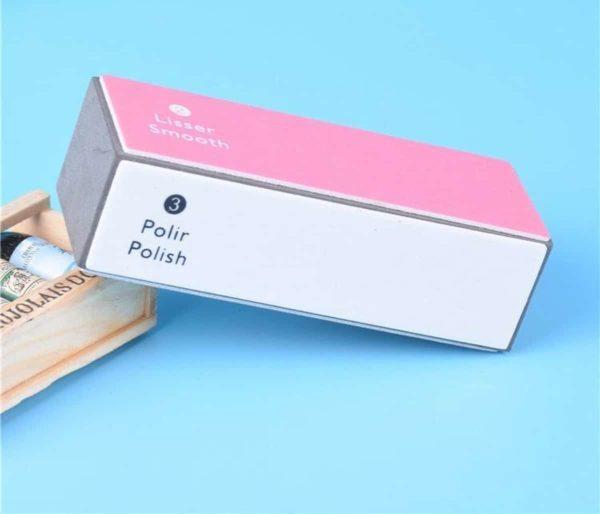NAILPERFECT sponge blok polijstblok nagelvijl, Buffers polijstmachine nagelvijl - Voetvijl voor verzorgde vingernagels en voetnagels - Nagelverzorgingsproduct - 4 kanten