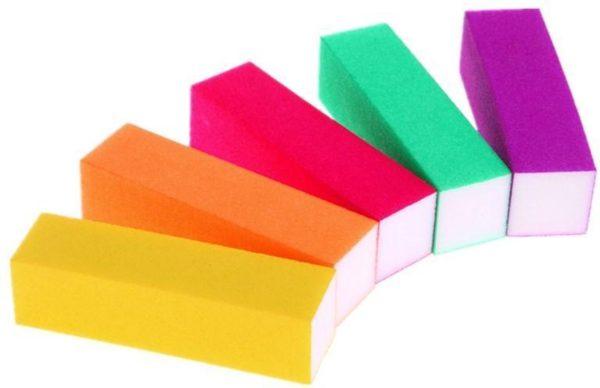 Nagel bufferblok 2 stuks - mix color