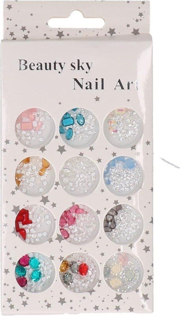 Nagel decoratie steentjes | Nail art | Nagels versieren | Nagel glitters | Nail tools