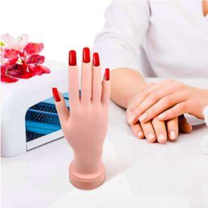 Nagel oefenhand - Oefenhand voor nagels - Nagel tips - Nailtrainer - Acryl nagels starterspakket - Nagel - Oefenhand - Nail art - Oefenvinger - Oefenhand Nagels - Oefen Nagels