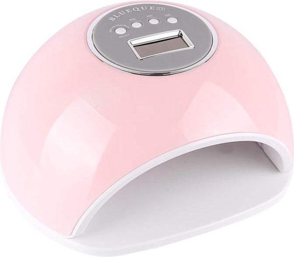 Nageldroger voor gelnagels - 72w - Gellak - LED/UV lamp - 4 timers - Rooskleurig