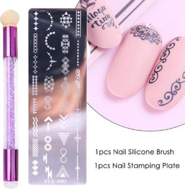 Nagellak Stempelset Easy Stamp 03