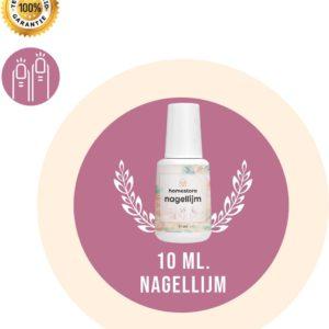 Nagellijm voor Nepnagels (10ML) Geschikt voor Polygel Acryl Nagels Gellak Gel Nagellak - Kunstnagels - Nageltips - Plaknagels - Nagel Lijm