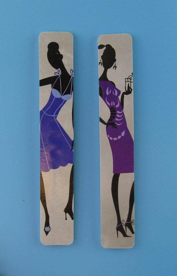 Nagelvijl - 2 stuks - 18 x 3 cm - Dubbelzijdig - Willekeurige kleur