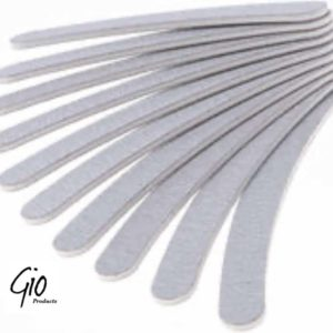 Nagelvijl/Zebra vijl Banaan 100/180 GIT - High Quality - Professionele markt