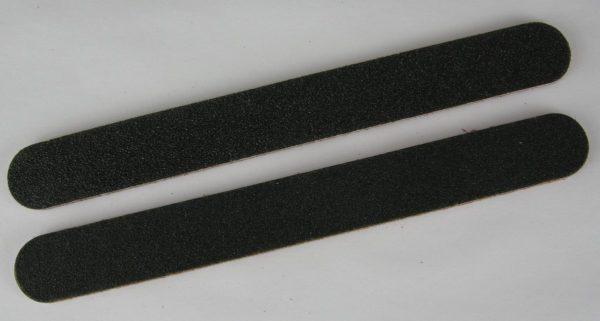 Nagelvijlen verpakt per 2 stuks zwart