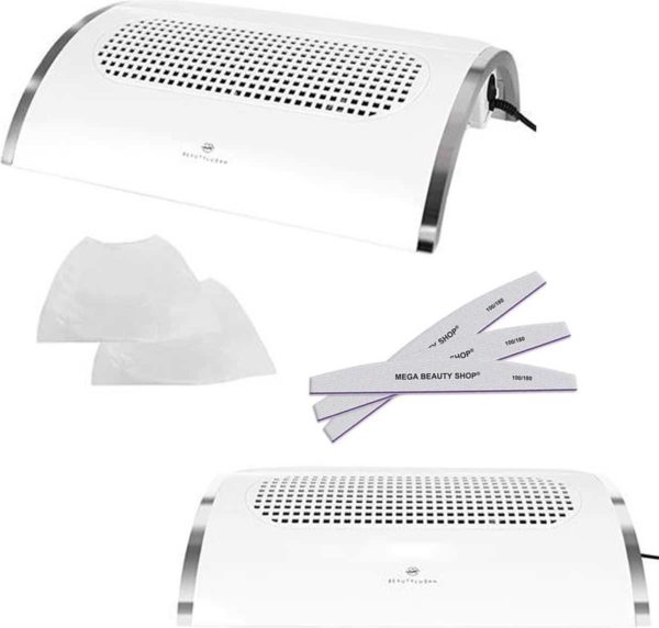 Nail Dust Collector Deluxe-set L- Dust collector- Nagelstof afzuiger- Nagel Stofafzuiger/BeautylushH