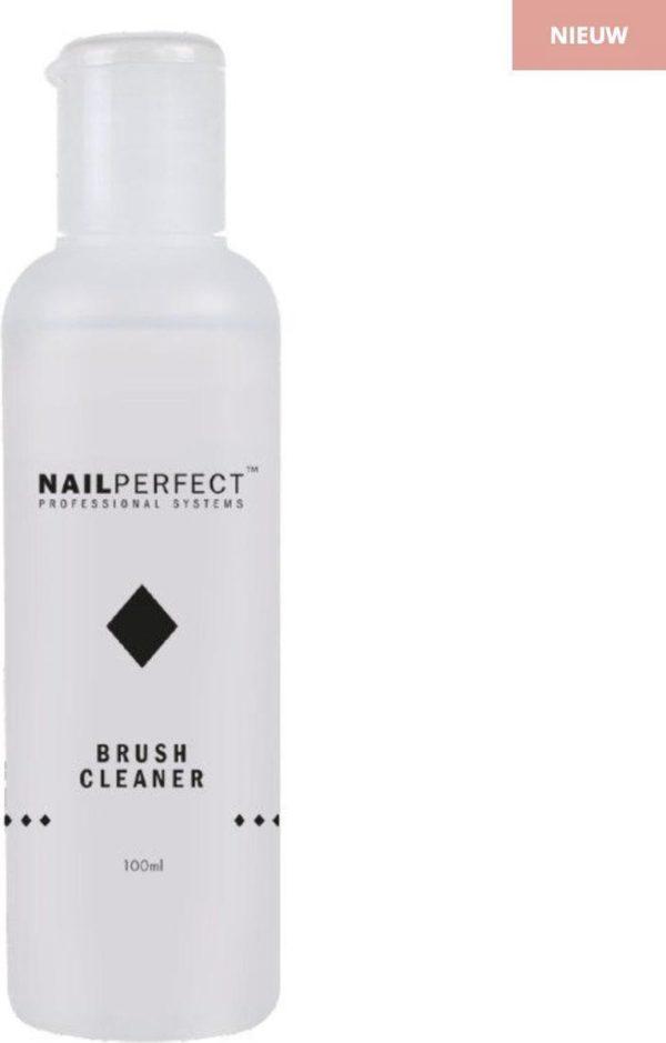 Nail Perfect Brush Cleaner 100ml - Acryl en Gel kwasten reinigen