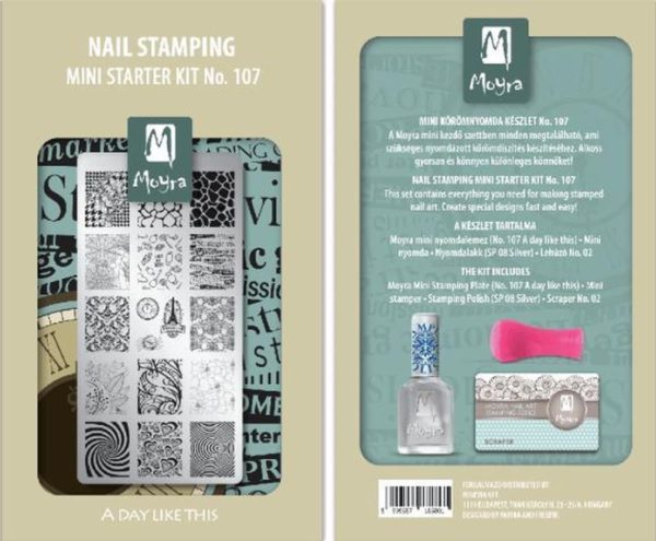 Nail Stamping Mini starter kit No.107