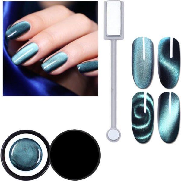 Nail art 5D cat eye gellak - Night Sky - Born Pretty nagellak set - Nagelstudio - Ook geschikt voor acryl nagels - Moeder cadeau - Romantisch - Vriendinnen - Liefdes - Vrouwen - Dames - Cadeau voor vrouw