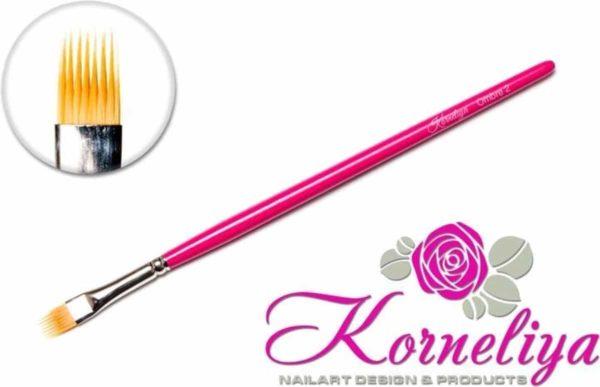 Nail art penselen - Korneliya Penseel Ombre 2 Kam Model