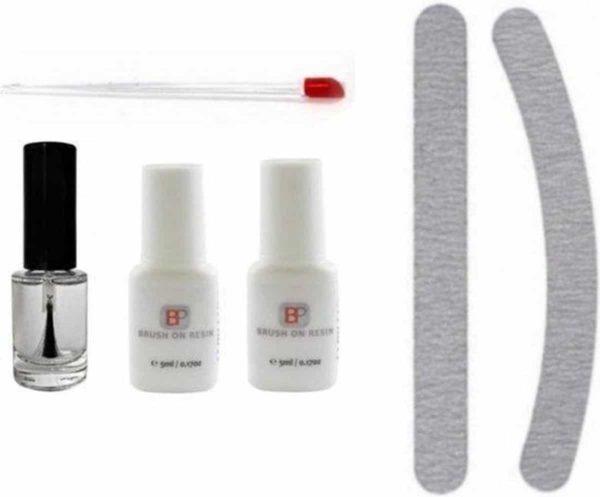 Nepnagel Set - Starterpakket Nails - Nagellijm - Vijlenset - Nagelolie - Bokkenpootje - Nagelverzorging