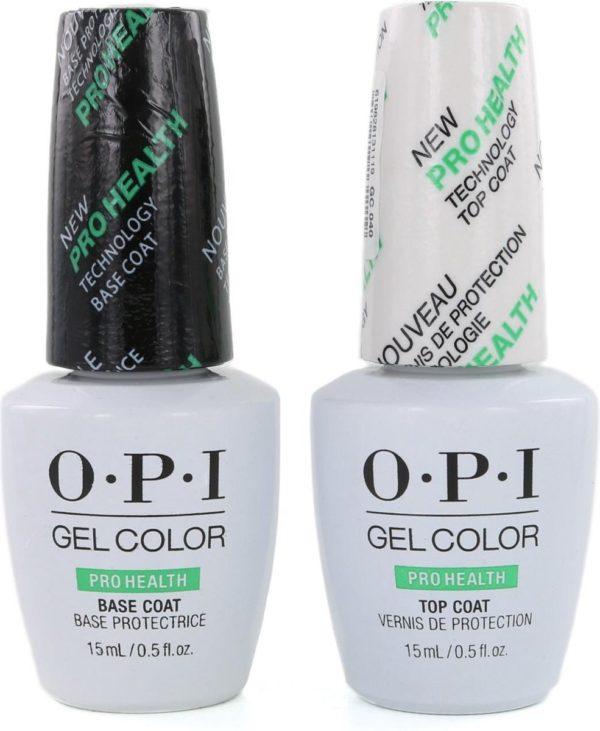 O.P.I GelColor Basecoat & Topcoat