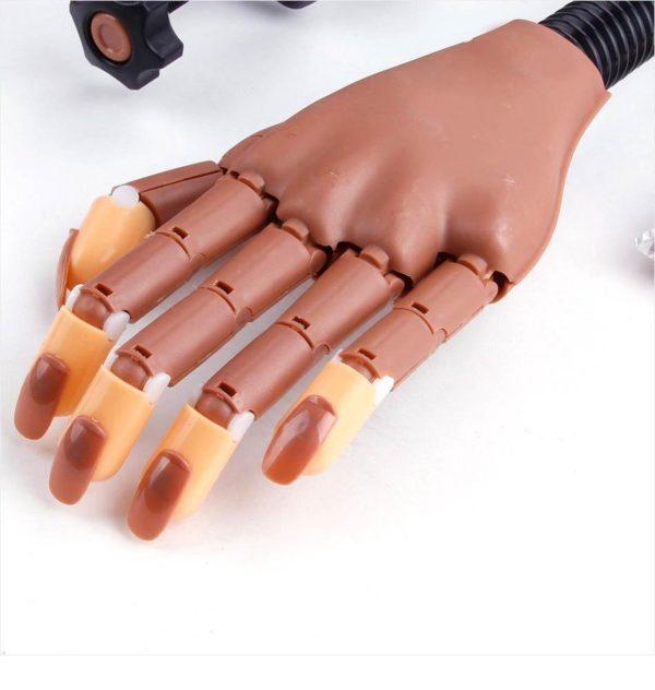 Oefenhand Voor Nagels Incl. 100 Nageltips - Nagellak - Polygel - Acryl Nagels - Nail Art - Kunstnagels - Gelnagels - Nailtrainer