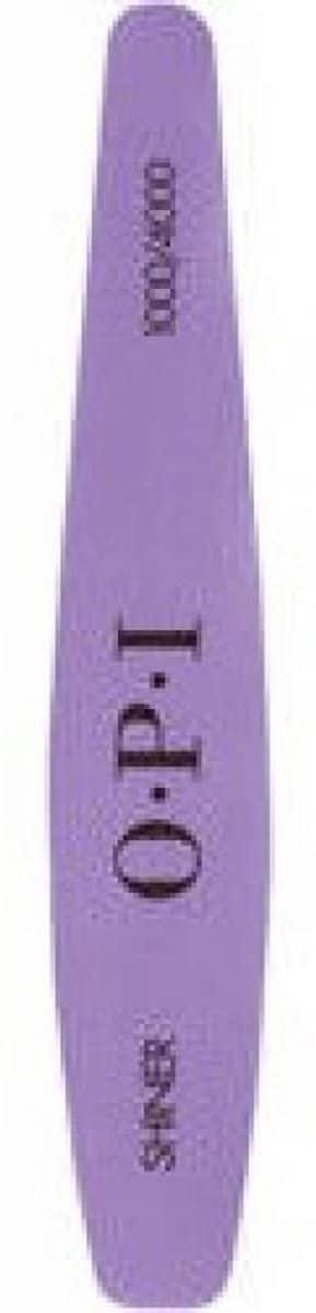 Opi Polijstvijl Shiner Xl 1000/4000 Grit Paars/wit
