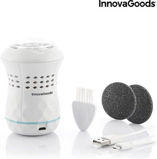 Oplaadbare pedicurevijl met geïntegreerde stofzuiger Sofeem InnovaGoods