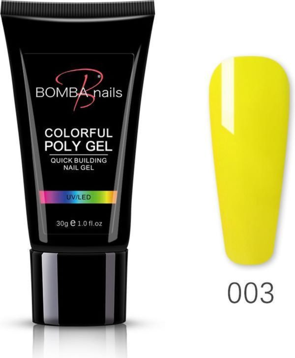 Polygel 30ml - Polygel nagels - Polygel kleuren - Geel