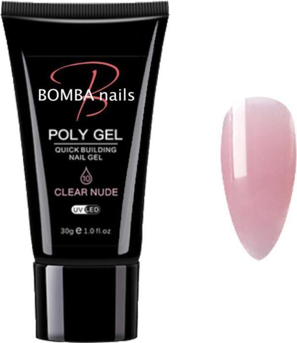 Polygel 30ml - Polygel nagels - Polygel kleuren - Helder Roze