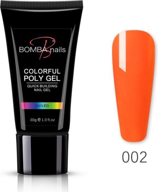 Polygel 30ml - Polygel nagels - Polygel kleuren - Oranje