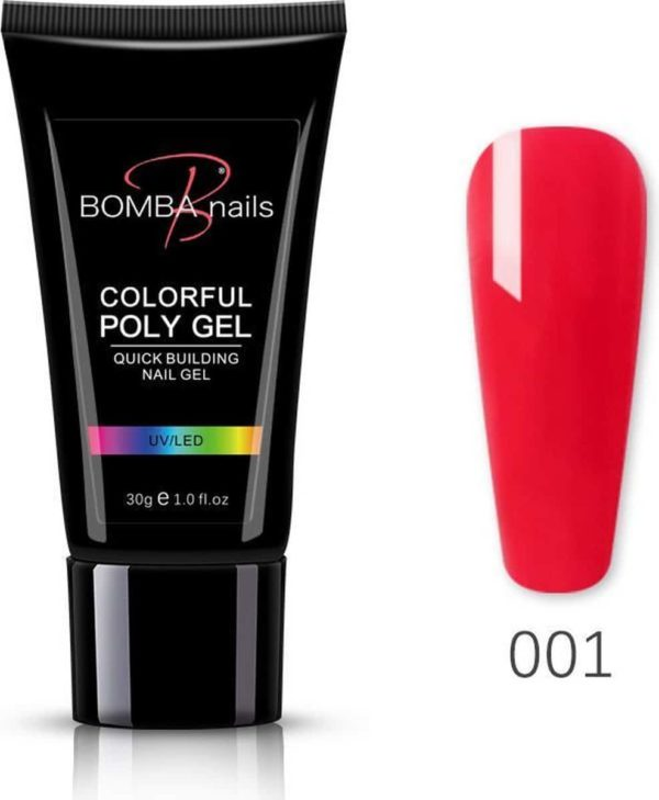 Polygel 30ml - Polygel nagels - Polygel kleuren - Rood