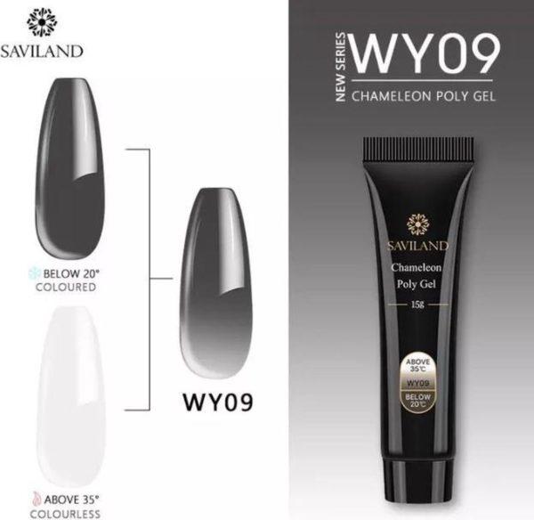 Polygel - Color Black - Polygel nagels - 15 gram