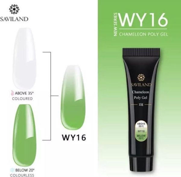 Polygel - Color Lime Green - Polygel nagels - 15 gram