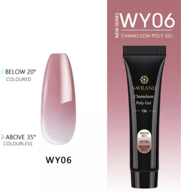 Polygel - Color Nude - Polygel nagels - 15 gram