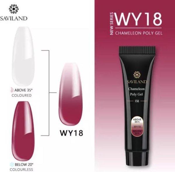 Polygel - Color Red - Polygel nagels - 15 gram