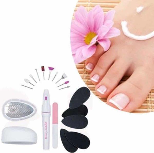 Prachtige Nagels met de Beauty Nail 18-delige Pedicureset