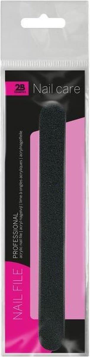 Professional file 2B- nail care -1 stuk- acryl nagelvijl