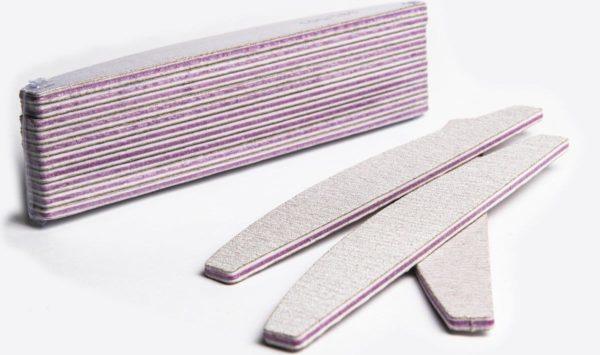 Professionele EVA nagelvijlen | 100/180 grit | Nagelvijl Set van 10 stuks Voor Acryl En Gelnagels