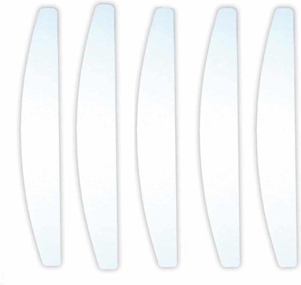 Professionele Moon nagelvijlen White | 100/180 grit | Nagelvijl Set van 5 stuks Voor Acryl En Gelnagels