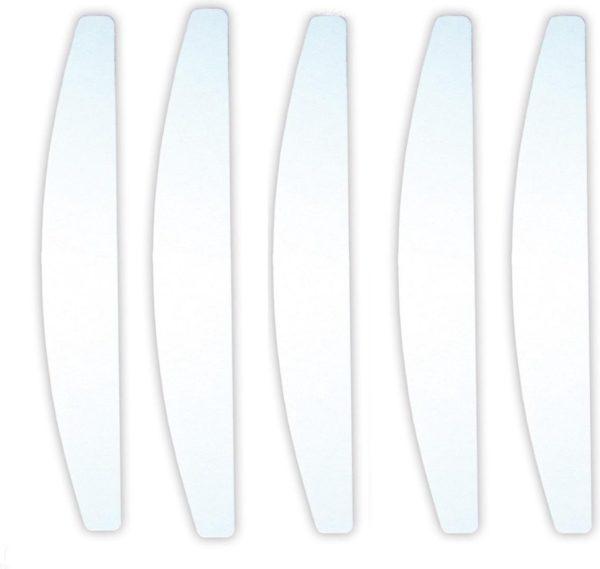 Professionele Moon nagelvijlen White   100/180 grit   Nagelvijl Set van 5 stuks Voor Acryl En Gelnagels