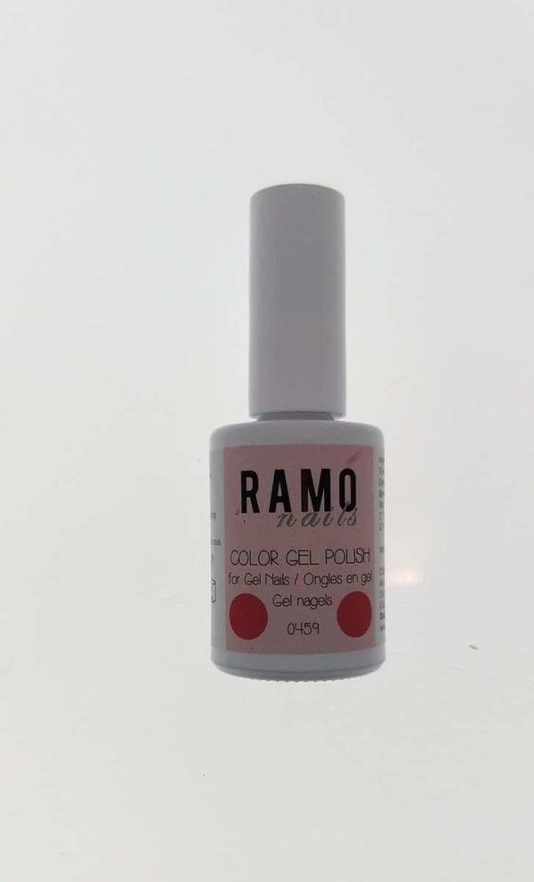 Ramo gelpolish 0459-gel nagellak-gelpolish-gellak-uv≤d-15ml-soak off-rood