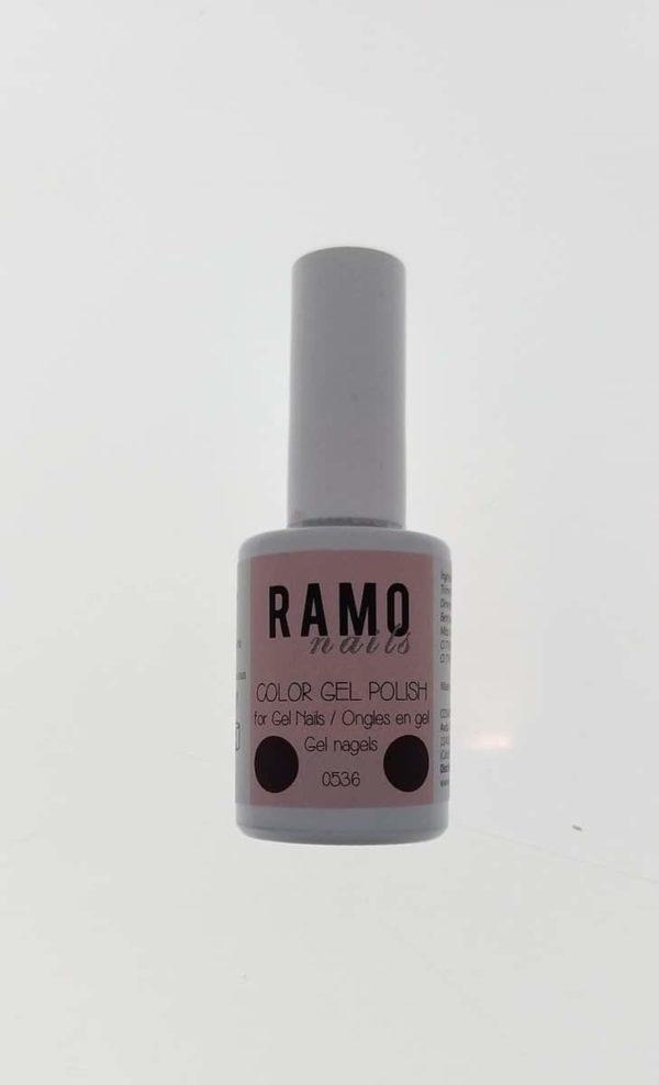Ramo gelpolish 0536-gel nagellak-gelpolish-gellak-uv≤d-15ml-soak off-rood metallic