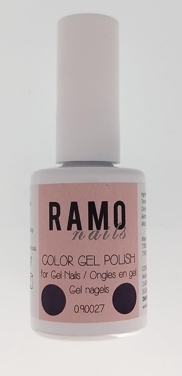 Ramo gelpolish 090027-gel nagellak-gelpolish-gellak-uv≤d-15ml-soak off-metallic-paars