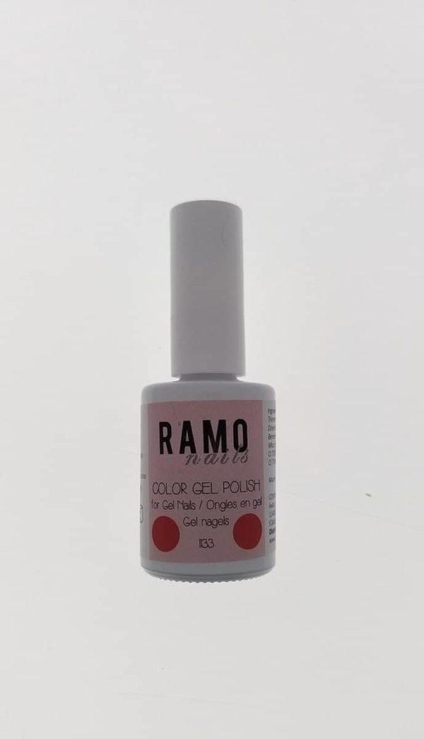 Ramo gelpolish 1133-gel nagellak-gelpolish-gellak-uv≤d-15ml-soak off-rood