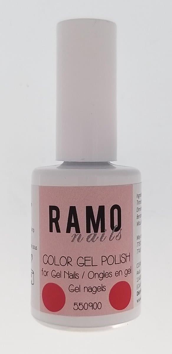 Ramo gelpolish 550900-gel nagellak-gelpolish-gellak-uv≤d-15ml-soak off-neon-roze