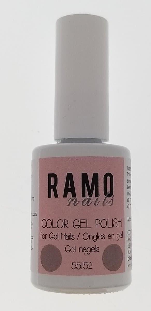 Ramo gelpolish 551152-gel nagellak-gellak-gelpolish-uv≤d 15ml-soak off-nude-bruin