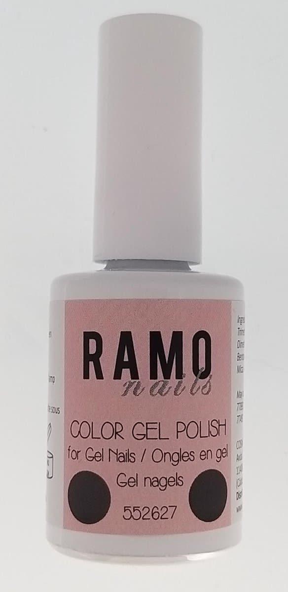 Ramo gelpolish 552627-gel nagellak-gelpolish-gellak-15ml-uv≤d-soak off-metallic-rood-glitter