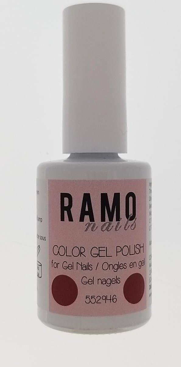 Ramo gelpolish 552946-gel nagellak-gelpolish-gellak-uv≤d-15ml-soak off-glitter-rood