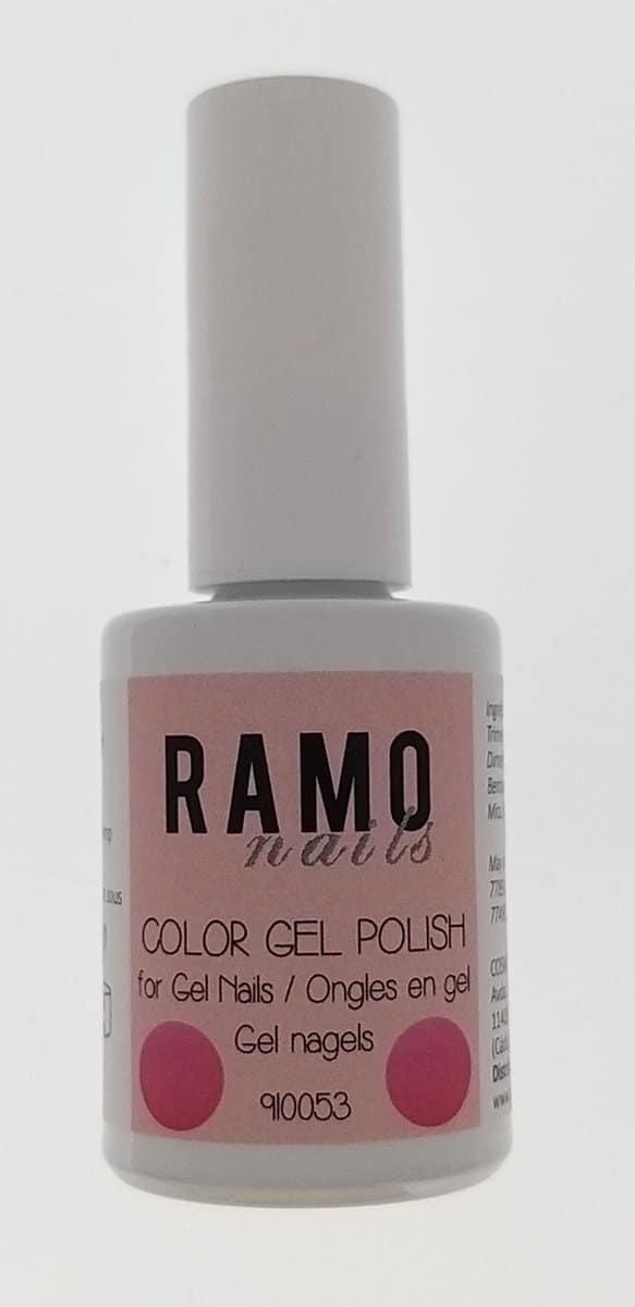 Ramo gelpolish 910053-gel nagellak-gelpolish-gellak-uv≤d-15ml-soak off-babyroze