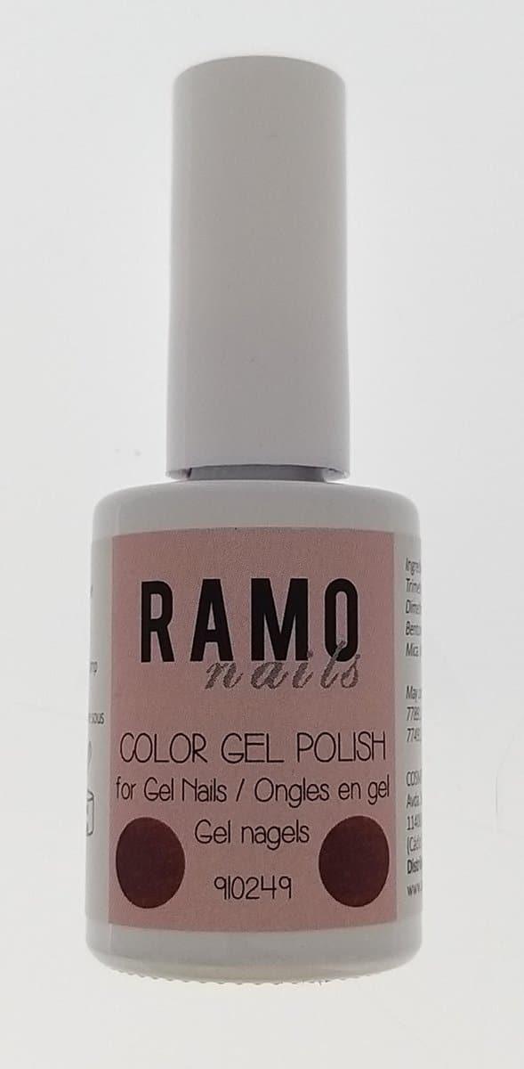 Ramo gelpolish 910249-gel nagellak-gellak-gelpolish-uv≤d-15ml-soak off-rood