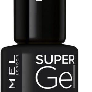 Rimmel London SuperGel Nagellak - 070 Blackest Black - Zwart
