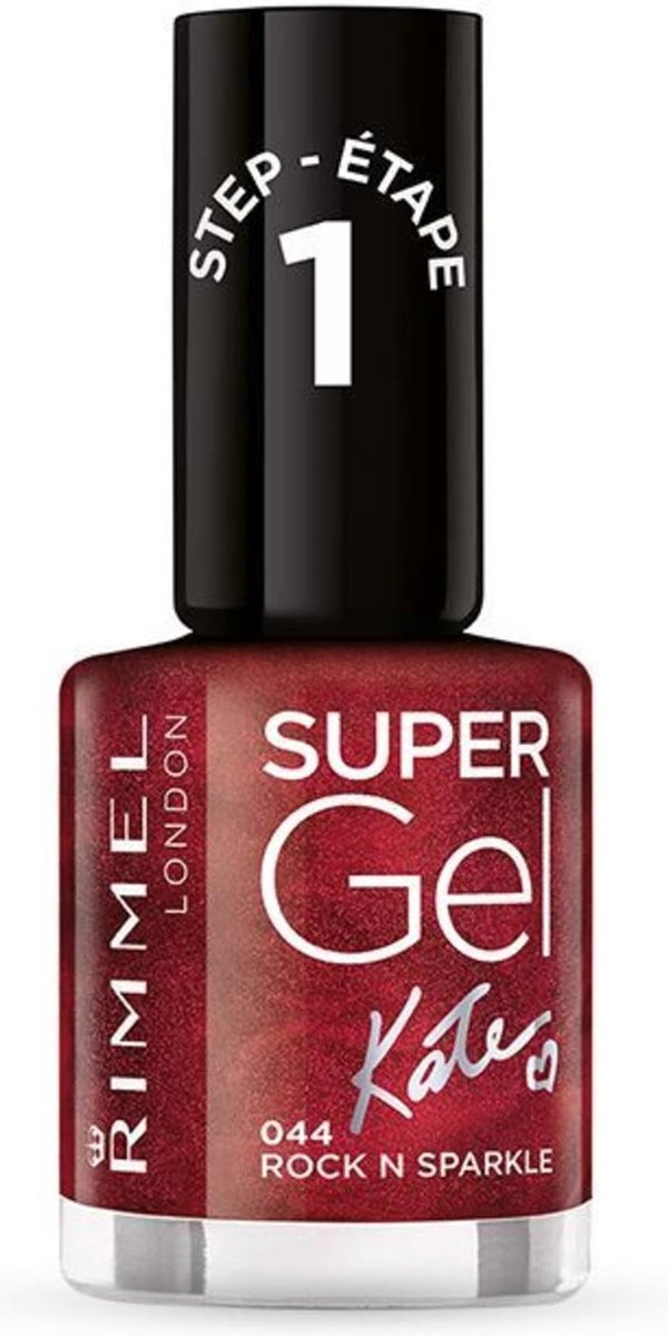 Rimmel London SuperGel Nagellak - 071 Guilty Pleasure - Rosegoud