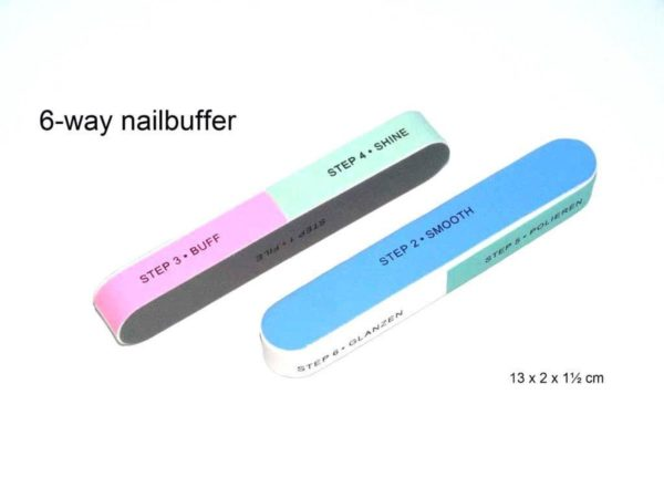 Rojafit 6-Way Nail Buffer